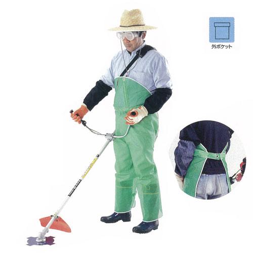 4476 メッシュ草刈り用スパットズボン式