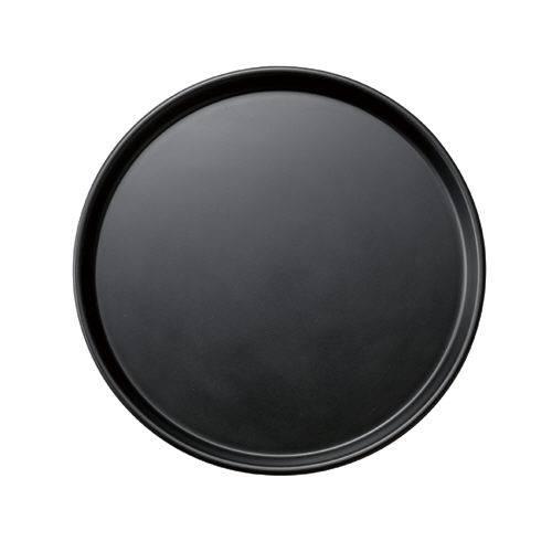 業務用 ミニトレー丸 ブラック 30枚