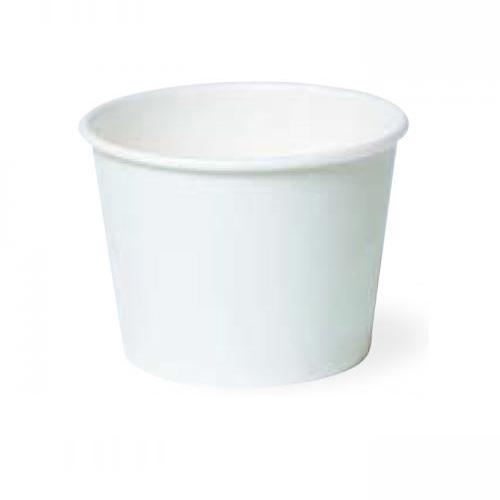 業務用 紙容器PC-120-2 ムジ 174ml 1000個※小袋入り(アイスカップ)