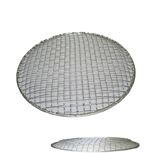使い捨て金網 丸型(ドーム) 24.5cm 480枚