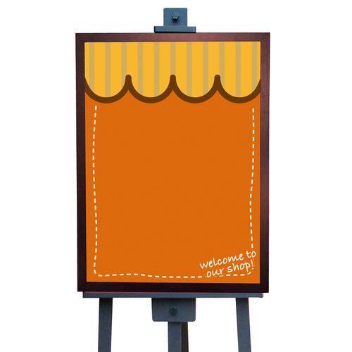 マジカルボード 6101 ウエルカム(オレンジ) M