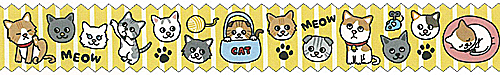 ★マスキングテープ 猫