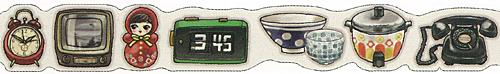 ★マスキングテープ レトロ雑貨