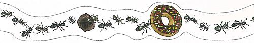 ★マスキングテープ 蟻の行列