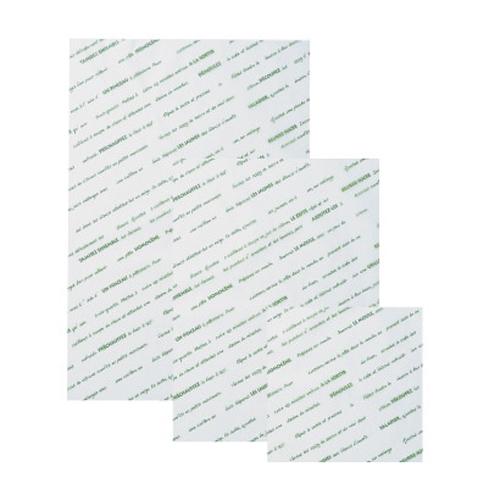★シリコングラシンシート スペシャリテ 150×150グリーン 500枚