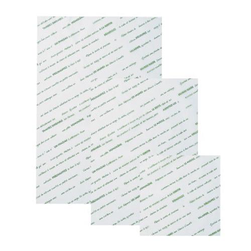 ★シリコングラシンシート スペシャリテ 508×762グリーン 500枚