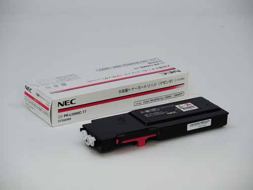 NEC(日本電気)PR-L5900C-17大容量マゼンタ 純正