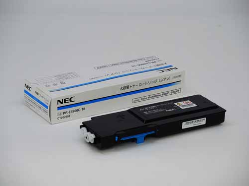 NEC(日本電気)PR-L5900C-18大容量シアン 純正