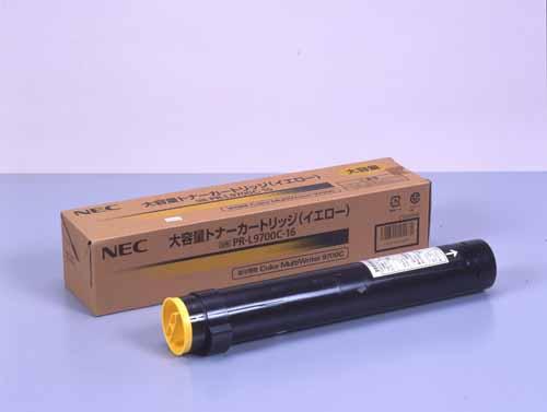 NEC(日本電気)PR-L9700C-16イエロー大容量 純正