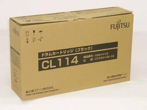 FUJITSU(富士通)ドラムカートリッジCL114ブラック 純正