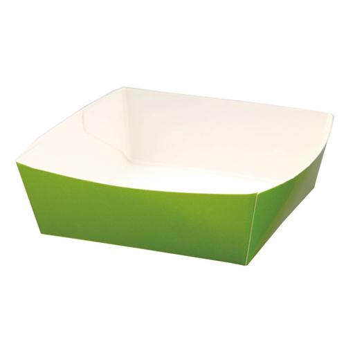 ★紙容器カラーココット リーフグリーン 50個