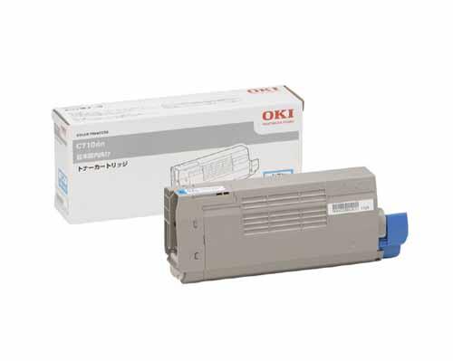 OKI(OKIデータ)TNR-C4EC1シアン 純正