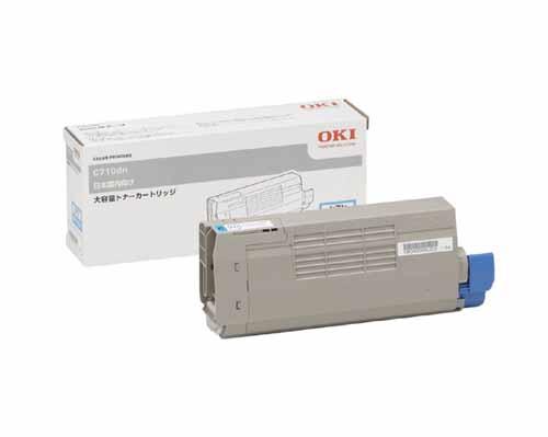 OKI(OKIデータ)TNR-C4EC2大容量シアン 純正
