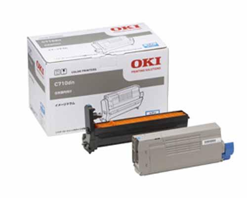 OKI(OKIデータ)ID-C4GCイメージドラムシアン 純正