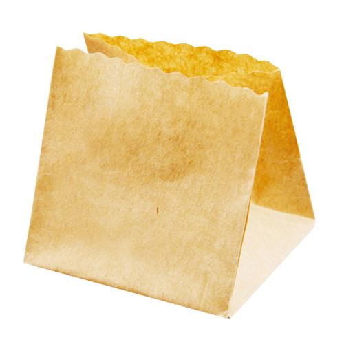 ★ベーキング袋ポットベリー 茶無地小 100枚