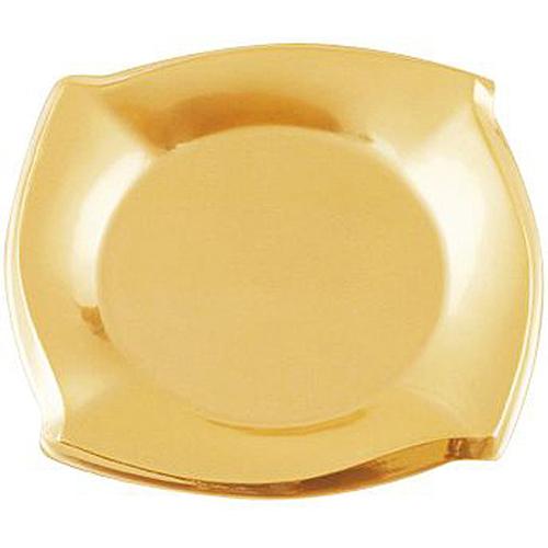 ★カラートレー ウェーブEG-60 ゴールド 100枚