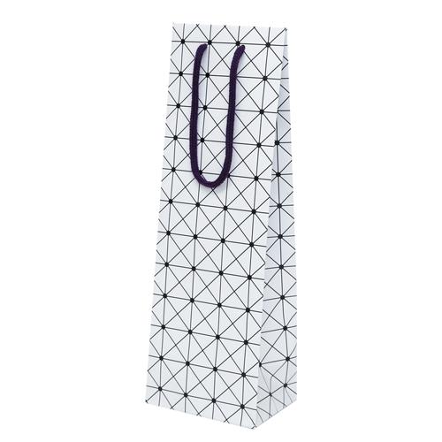 (K-1314)ワイン1本箱用手提袋 100枚