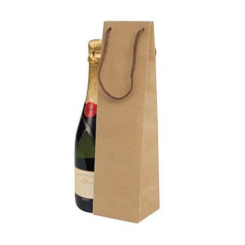 (K-1369)ボトルクラフト酒瓶用手提げ袋90パイ 100枚