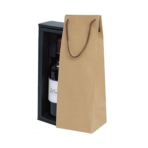 (K-1372)ボトルクラフト酒瓶用手提げ袋120パイ 100枚