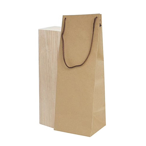 (K-1373)ボトルクラフト酒瓶用手提げ袋160パイ 100枚