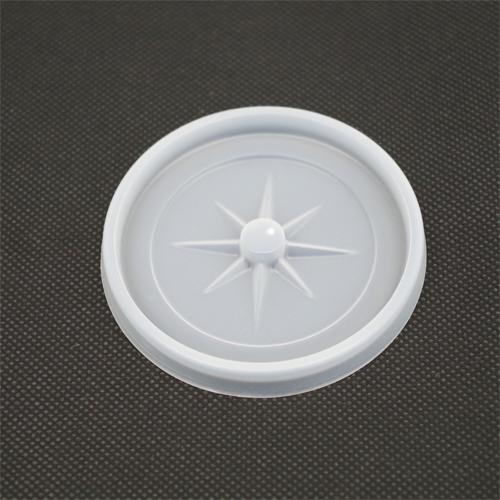 業務用 デキシー73パイ用半透明LID(針穴)(蓋)2400枚