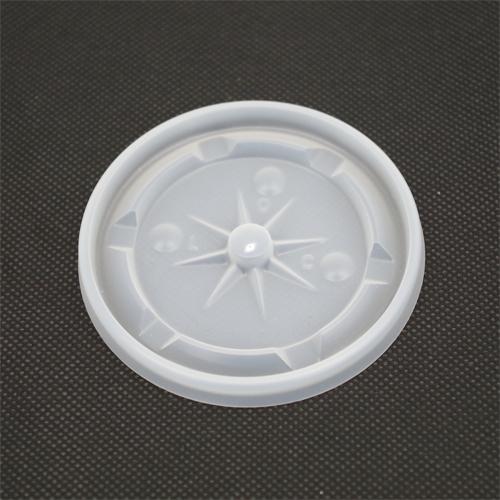 業務用 デキシー77パイ用半透明LID(針穴)(蓋)1000枚