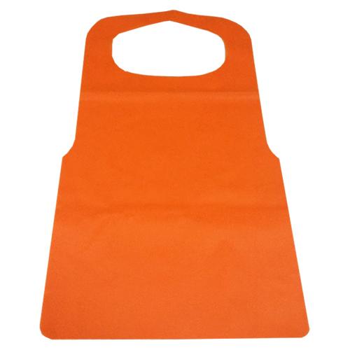 不織布エプロン オレンジ 1200枚