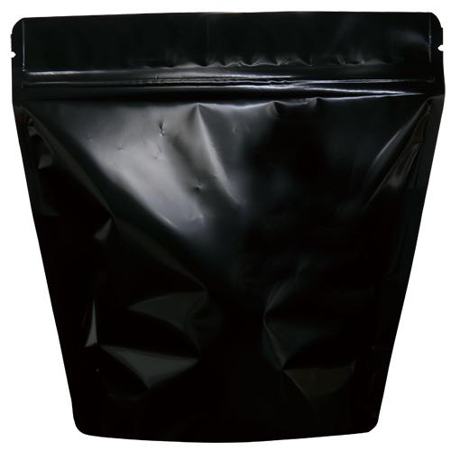 COT-862 コーヒー用スタンドチャック袋300g黒 インナーバルブ付 500枚