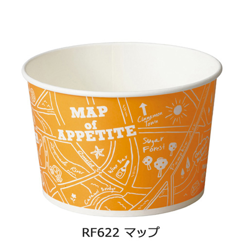 RF622 ロールFカップ マップ 600枚