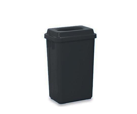 分別収集容器 ゴミ箱 ダークグレー