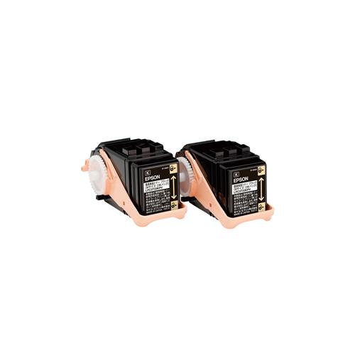 純正EPSON LPC3T33KPV 環境推進トナーブラック 2本パック