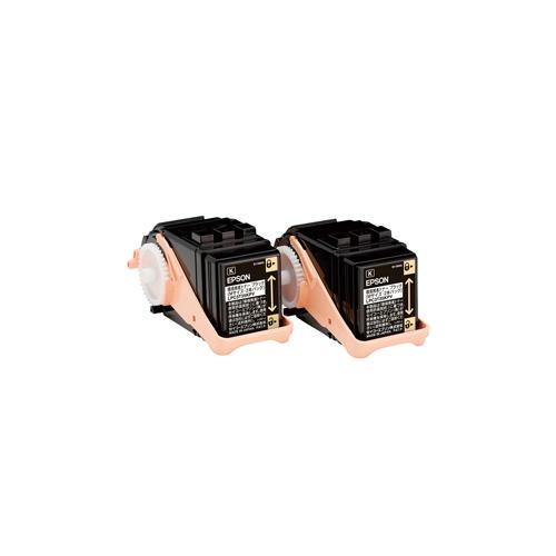 純正EPSON LPC3T35KPV 環境推進トナーブラック 2本パック
