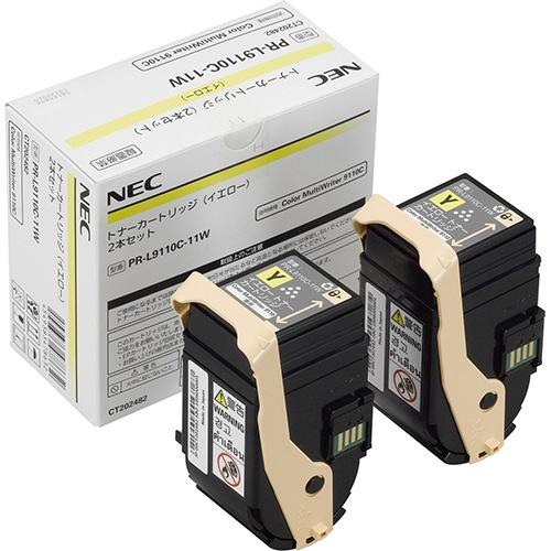 純正NEC PR-L9110C-11W イエロー 2本セント
