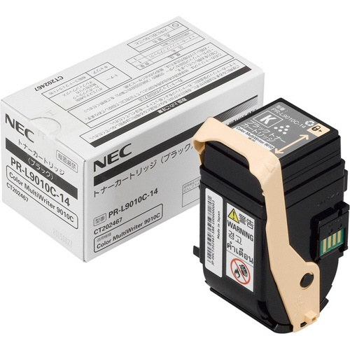 純正NEC PR-L9010C-14 ブラック