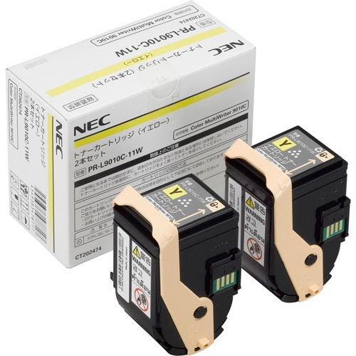 純正NEC PR-L9010C-11W イエロー 2本セット