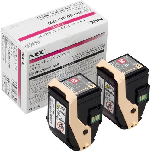 純正NEC PR-L9010C-12W マゼンタ 2本セット