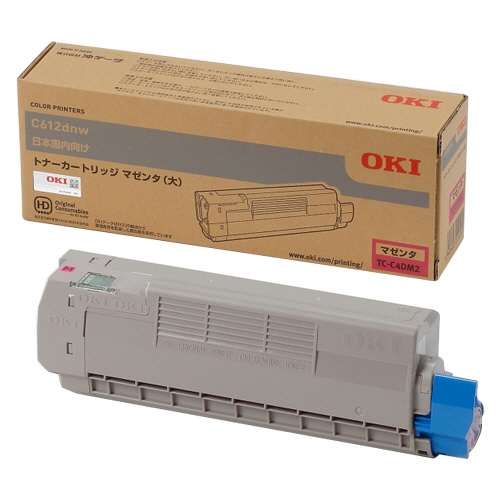純正OKI TC-C4DM2 マゼンタ大容量