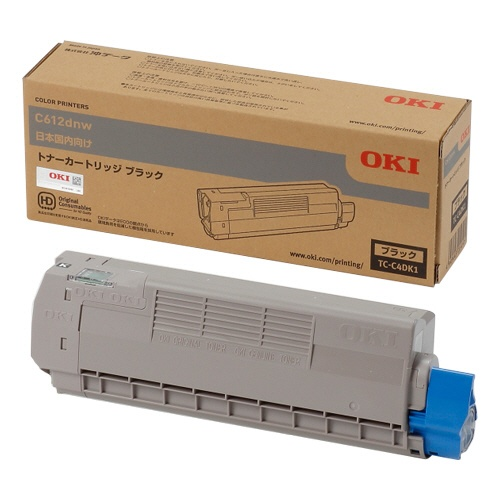 純正OKI TC-C4DK1 ブラック