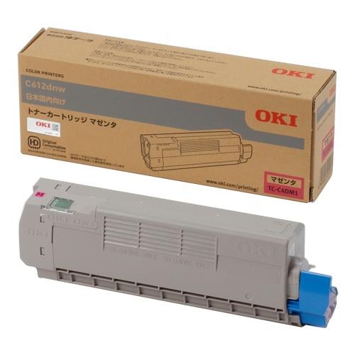 純正OKI TC-C4DM1 マゼンタ