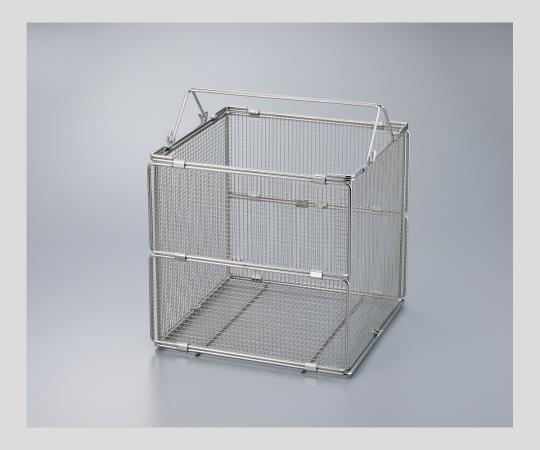 ステンレス折畳洗浄カゴFDWB-415