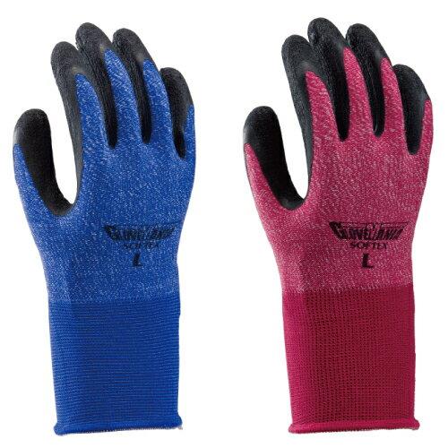 ★2502 ソフテックス(通気性作業用手袋) 10双