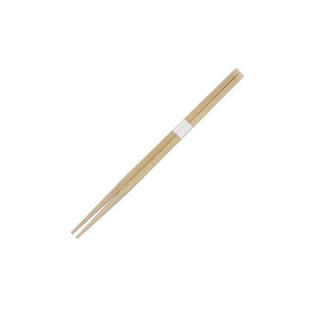 割り箸 先細天削竹箸24cm 白帯巻 3000膳