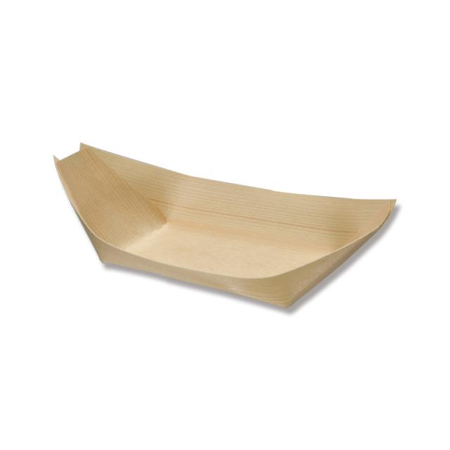 エゾ松舟皿 6寸 1000枚