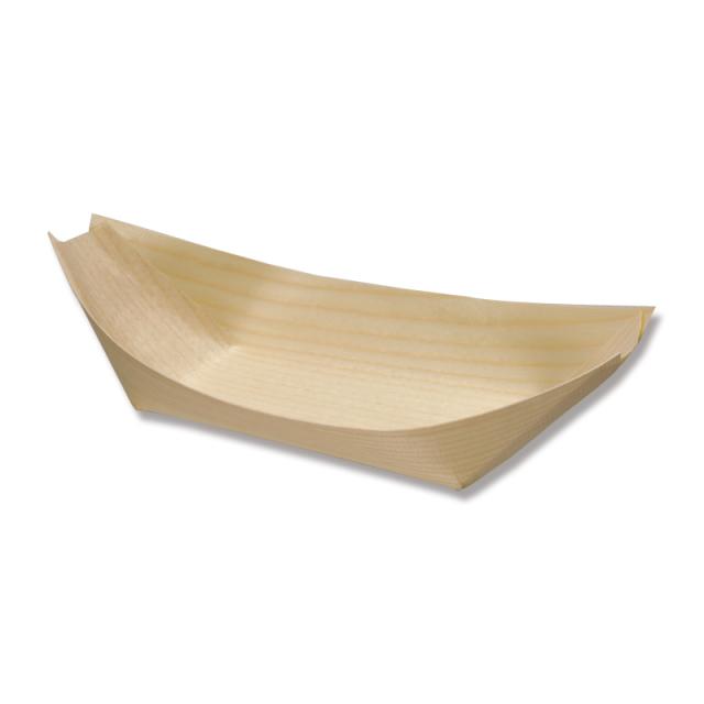 ★エゾ松舟皿 8寸 100枚