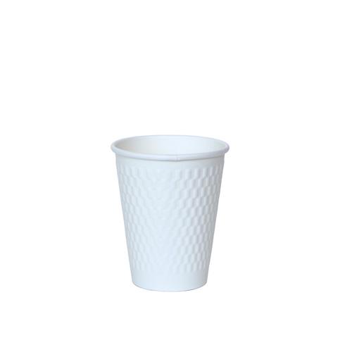 二重断熱紙コップ KMW-240 ホワイト 1000個