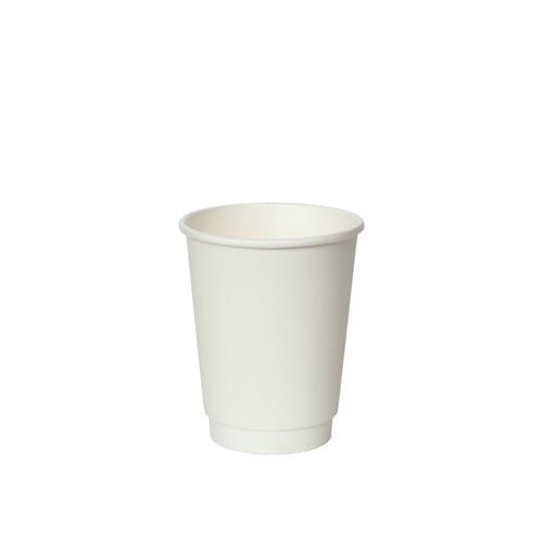 二重断熱紙コップ KMJ-240 ホワイト 500個
