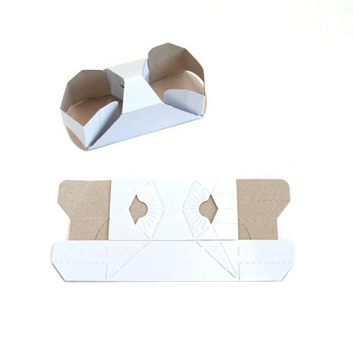 コップホルダー(2個用)ホワイト 500個