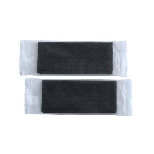 不織布おしぼり 平型 黒 180×220mm 2000枚