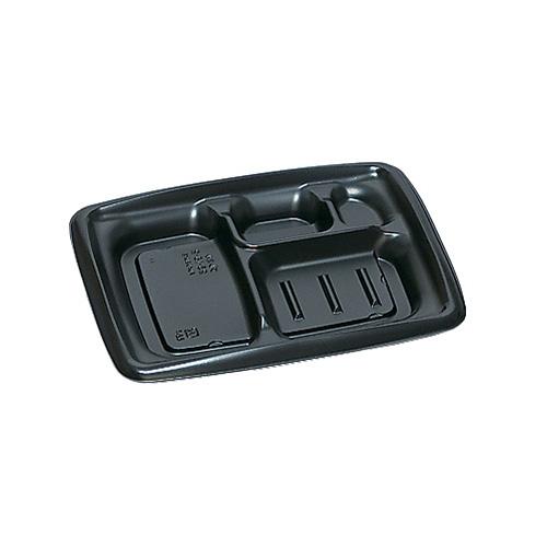 弁当容器 プレミル23-18-2H黒 900枚