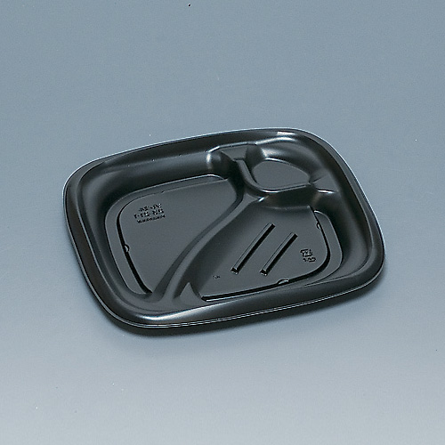 弁当容器 プレミル23-21-1H黒 600枚
